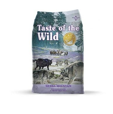 Sierra Mountain Grain Free High Protein Natural Dry Dog Food by Taste of the Wild