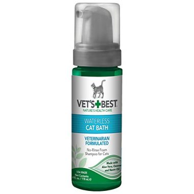 Vet's Best No-Rinse Clean Waterless Cat Shampoo