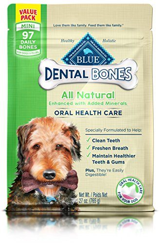 BLUE Dental Bones Natural Dog Chews by Blue Buffalo
