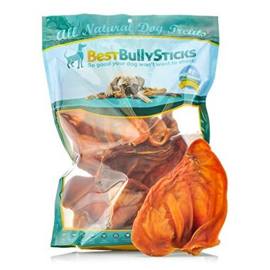 USA Pig Ears All-Natural Dog Treat by Best Bully Sticks