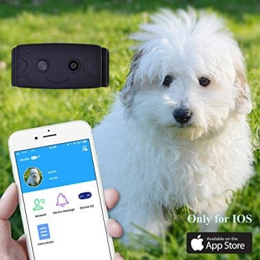 Camera GPS Locator Anti-Lost Pet Tracker Device with Camera Function by Komhode