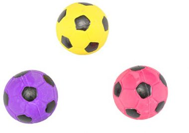 HDP Spot Soccer Latex Ball Dog Toy by Ethical Pet