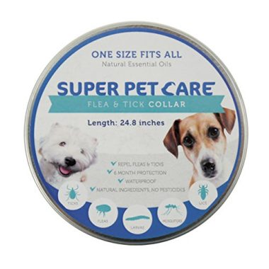 Flea and Tick Repellent Collar by Super Pet Care