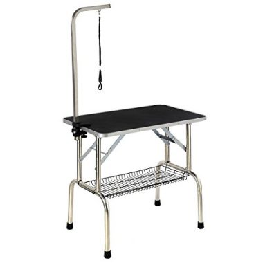 Giantex Large Portable Pet Dog Cat Grooming Table