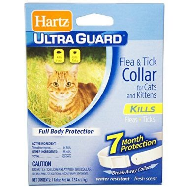 UltraGuard Flea & Tick Cat and Kitten Collar by Hartz