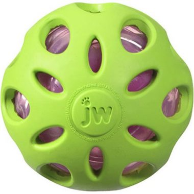 Crackle Heads Crackle Ball Dog Toy by JW Pet Company