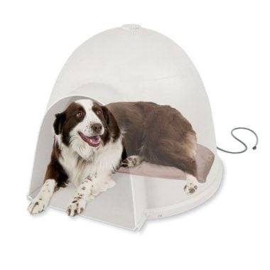 K&H Pet Products Lectro-Soft Igloo Style Heated Dog Bed
