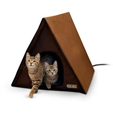 Outdoor Multi-Kitty A-Frame (Heated or Unheated)
