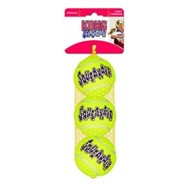 Squeaker Tennis Balls Dog Toy by KONG