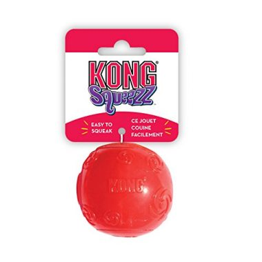 Squeezz Ball Dog Toy by KONG