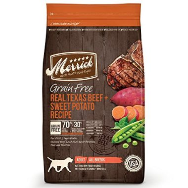 Grain Free Real Texas Beef + Sweet Potato Recipe Dry Dog Food
