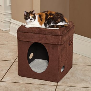 Curious Cat Cube, Cat House/ Cat Condo