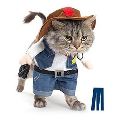 Mikayoo Pet Dog Cat Halloween Costumes