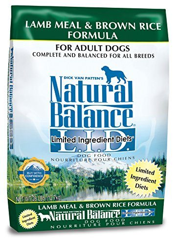 Limited Ingredient Diets Dry Dog Food – Lamb Meal & Brown Rice Formula by Natural Balance