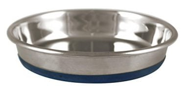 OurPQ Durapet Premium Rubber-Bonded Dish