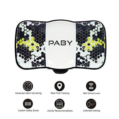 3G GPS Pet Tracker and Activity Monitor for Dogs Cats by PABY