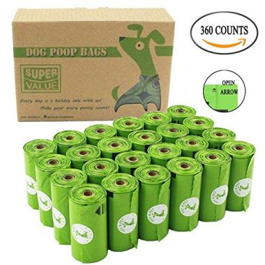 Dog Poop Bags Biodegradable by PET N PET
