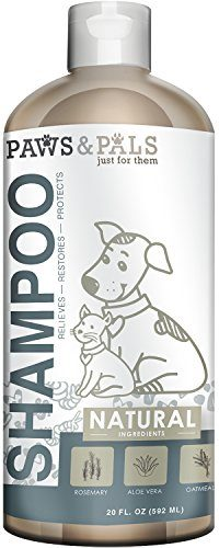 Natural Dog Shampoo and Conditioner – Medicated Clinical Vet Formula Wash by Paws & Pals