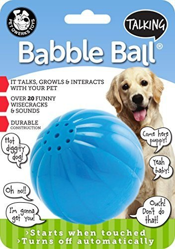 Talking Babble Dog Toy by Pet Qwerks