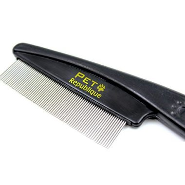 Dog & Cat Flea Comb by Pet Republique