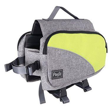 Dog Travel Camping Backpack Saddle Bag Rucksack by Petsfit