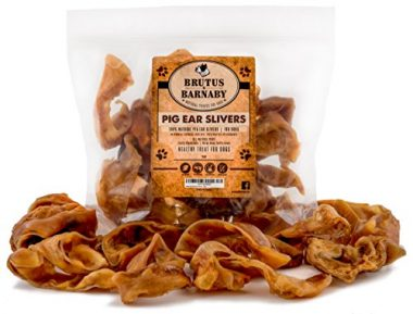 Pig Ear Slivers by Brutus & Barnaby