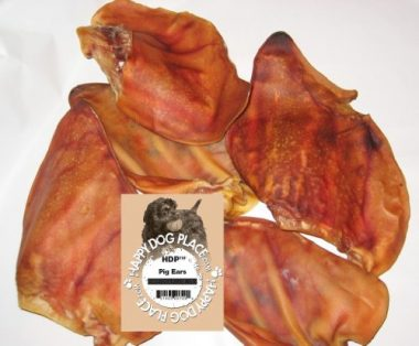 HDP Large Roasted Pig Ears by Happy Dog Place