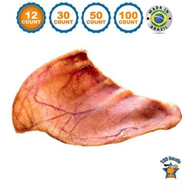 Pig Ears for Dogs by 123 Treats