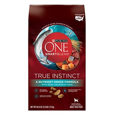 One SmartBlend True Instinct Real Salmon & Tuna Formula Dry Dog Food by Purina
