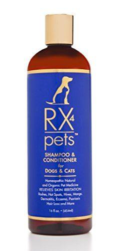 RX 4 PET Cat and Dog Shampoo