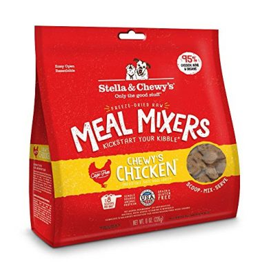 Freeze-Dried Raw Meal Mixers