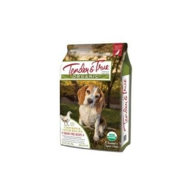 Organic Chicken & Liver Dry Dog Food