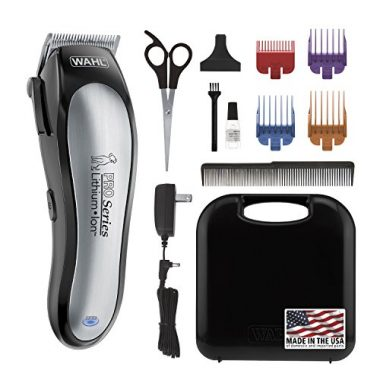 Lithium Ion Pro Series Cordless Dog Clippers by Wahl Professional Animal