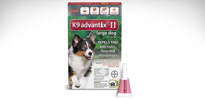 k9 advantix ii flea control review