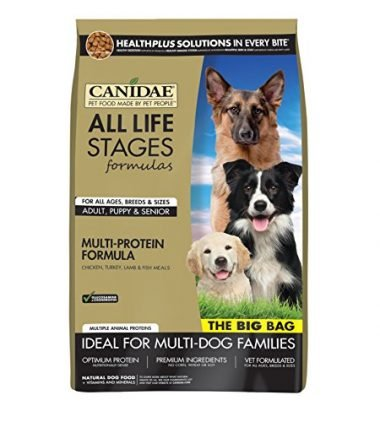 All Life Stages Multi-Protein Formula Dry Dog Food for Puppies, Adults, & Seniors