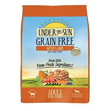 Under the Sun Grain Free Single Animal Protein: Lamb Adult Dry Dog Food