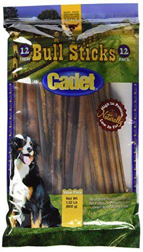 Cadet Gourmet Bull Sticks 12 Pack