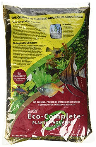 Carib Sea Eco Complete Planted Black Aquarium Substrate