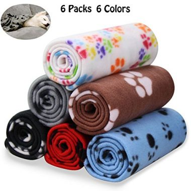 Warm Dog Fleece Pet Blanket