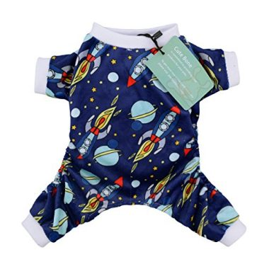 CuteBone Dog Pajamas Rocket