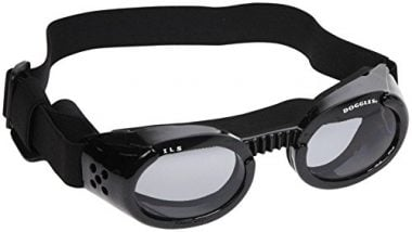 Doggles ILS Metallic Black Frame with Smoke Lens