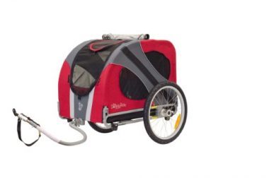 Novel Dog Bike Trailer by DoggyRide
