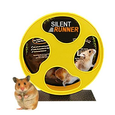 Exotic Nutrition Silent Runner – Pet Exercise Wheel