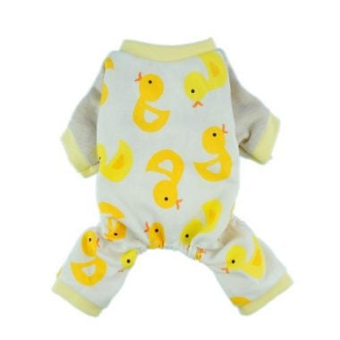 Fitwarm Cute Duck Dog Pajamas