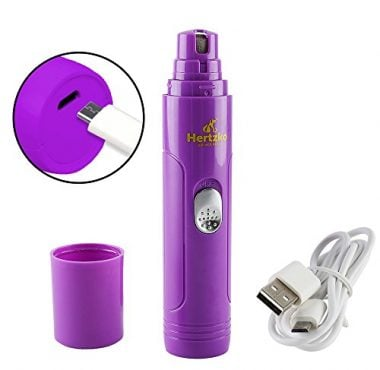 Electric Pet Nail Grinder with USB Charger