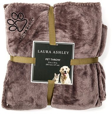 Reversible Micro Fur Pet Dog Bed Blanket Throw