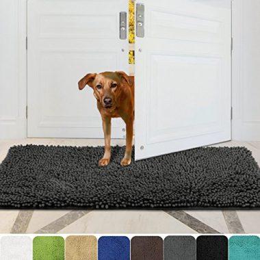 Mayshine Absorbent Microfiber Chenille Dog Doormat
