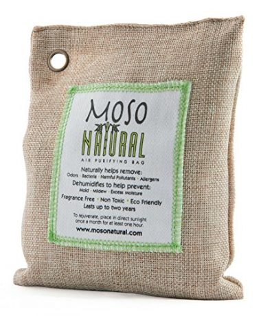 Natural Air Purifying Bag by Moso