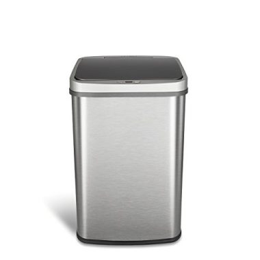 Ninestars Dzt-50-28BR Automatic Touchless Motion Sensor Trash Can