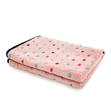 Fleece Fabric Soft and Cute Pet Dog Blanket
